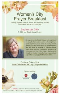 Women's City Prayer Breakfast