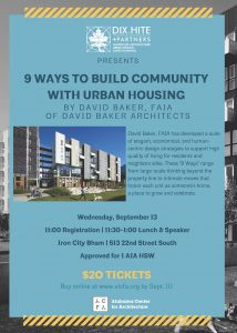 9 Ways to Build Community with Urban Housing