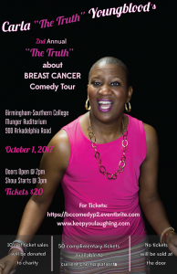 """2nd Annual """"The Truth"""" about Breast Cancer Comedy Tour"""