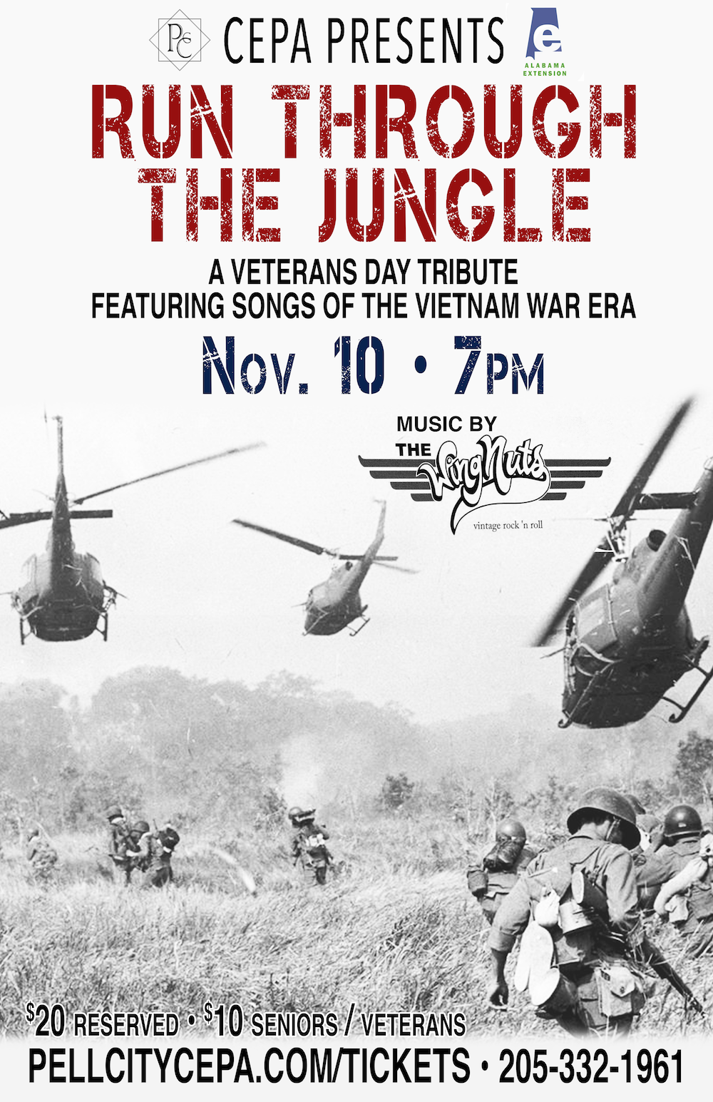 Run Through The Jungle- A Veterans Day Tribute presented by