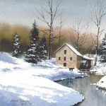 WATERCOLOR CHRISTMAS CARDS WITH WAYNE SPRADLEY