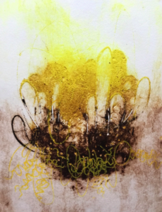 Carborundum Collograph Workshop
