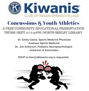 Concussions and Youth Athletics