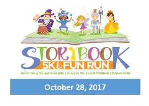 2nd Annual Storybook 5K and Fun Run