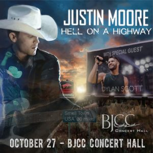 """Justin Moore """"Hell On A Highway Tour"""""""