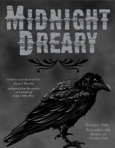 Midnight Dreary adapted from Edgar Allen Poe by Da...