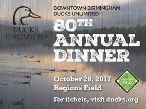80th Annual Downtown Birmingham Ducks Unlimited Di...