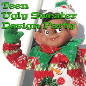 Teen Ugly Sweater Design Party