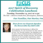 Spirit of Recovery Celebration Luncheon