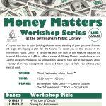 Money Matters Workshop – Your Credit Report