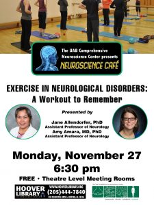 NEUROSCIENCE CAFE: Exercise in Neurological Disord...
