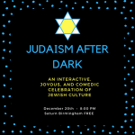 Judaism After Dark