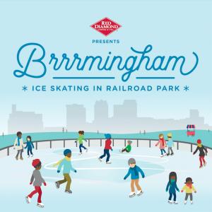 Brrrmingham, Ice Skating at Railroad Park presente...