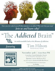 """The Addicted Brain"" with Bradford Health Services..."