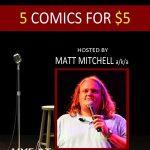 5 Comics for $5