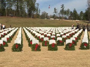 Wreaths Across America Wreath Laying Ceremony