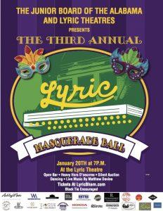 3rd Annual Lyric Masquerade Ball