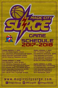 Magic City Surge vs. Georgia Gwizzies