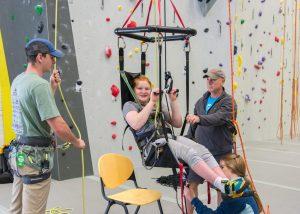 Adaptive Climbing Clinic
