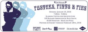 Third Annual Posters, Pints, and Pies Exhibit