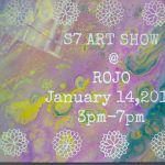 Art Show opening for Jackie Brown