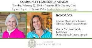 Leadership Vestavia Hills Community Leadership Awards