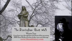 The Birmingham Ghost Walk - Winter Tour