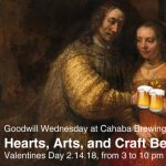 Hearts, Arts, and Craft Beer: Goodwill Wednesday