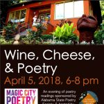 Wine, cheese and poetry