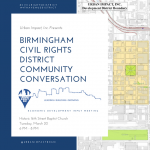 Birmingham Civil Rights District Economic Development Input Meeting