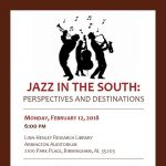 Jazz in the South: Perspectives and Destinations
