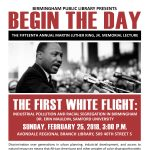 Begin the Day: The Fifteenth Annual Martin Luther King, Jr. Memorial Lecture