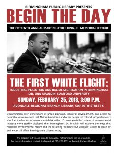 Begin the Day: The Fifteenth Annual Martin Luther ...