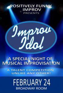 PFI Presents Improv Idol