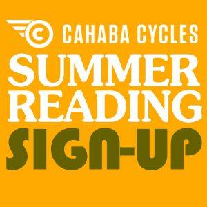 Cahaba Cycles Summer Reading Sign Up