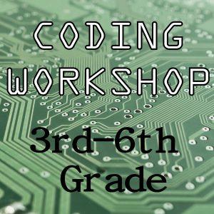 Coding Workshop 3rd-6th Grade