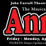 John Carroll presents Annie the Musical