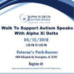 Walk to Support Autism Speaks With Alpha Xi Delta