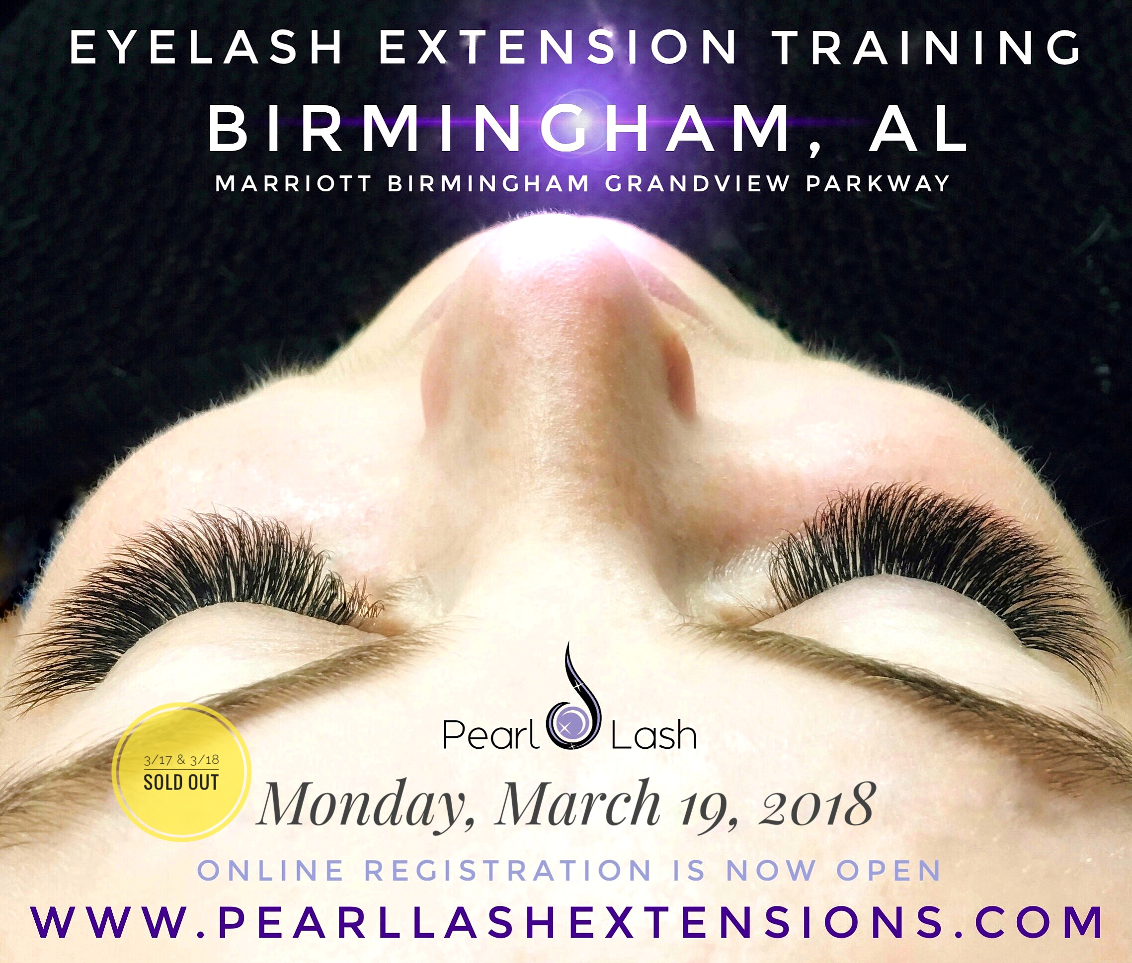 Eyelash Extension Training Event Presented By Pearl Lash Corporation
