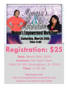 Mimosa's and Motivation women's Empowerment Event