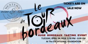 Le Tour de Bordeaux Wine Tasting