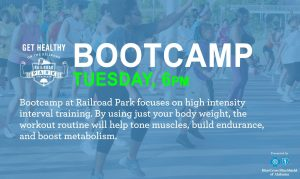 Get Healthy on the Railroad: Bootcamp
