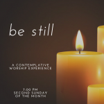 Be Still: A Contemplative Worship Experience at Highlands United Methodist Church