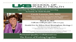 Perinatal Quality Collaboratives: The Power of Wor...