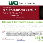 EIBI, ASD & the Forward March of Behavior Analysis