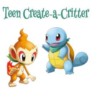 Teen Create a Critter