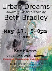 """""""Urban Dreams"""" recent works by Beth Bradley"""