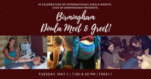 Birmingham doula meet and greet presented by ican of birmingham birmingham doula meet and greet m4hsunfo