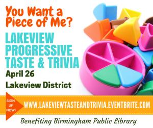 Lakeview Progressive Taste & Trivia