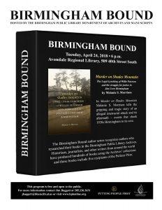 Birmingham Bound: Murder on Shades Mountain
